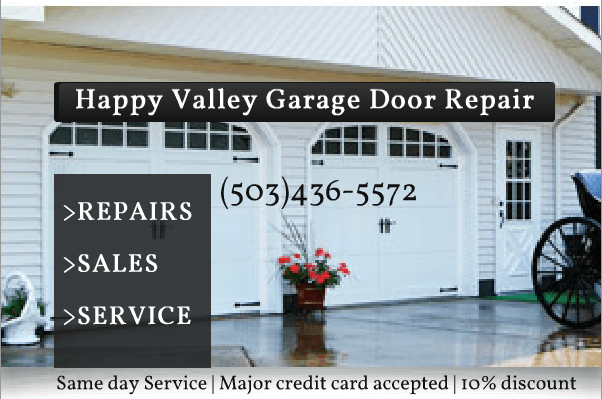 Happy Valley Garage Door Repair 503 436 5572