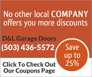 Garage Door repair discounts
