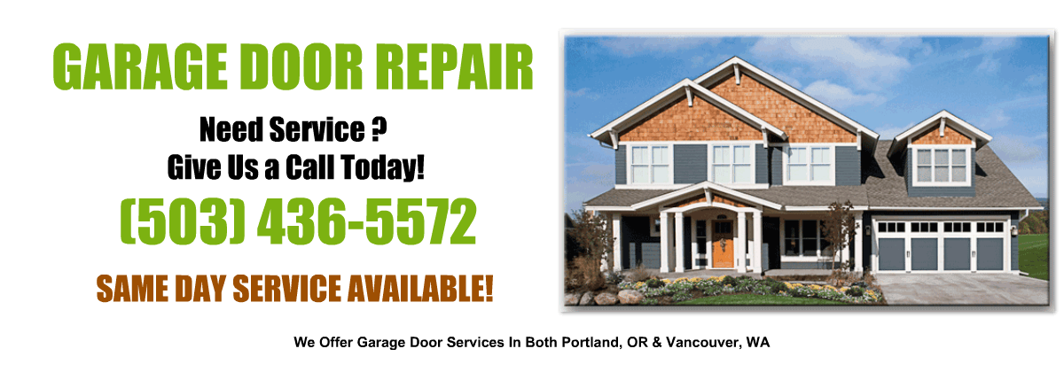 Garage Door Repair And Installation By D Amp L In Portland Or
